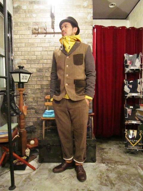 "AmanjaKania \""Old Farmer Pants\"" Set-Up Style ご紹介_f0191324_949392.jpg"