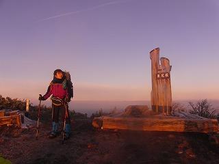 《氷ノ山の貴公子》 さんと登る、ご来光ツアー!!_f0101226_20414957.jpg