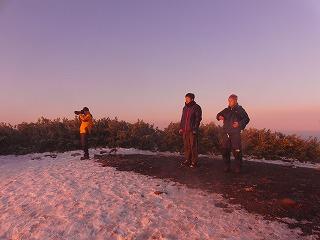 《氷ノ山の貴公子》 さんと登る、ご来光ツアー!!_f0101226_20543542.jpg