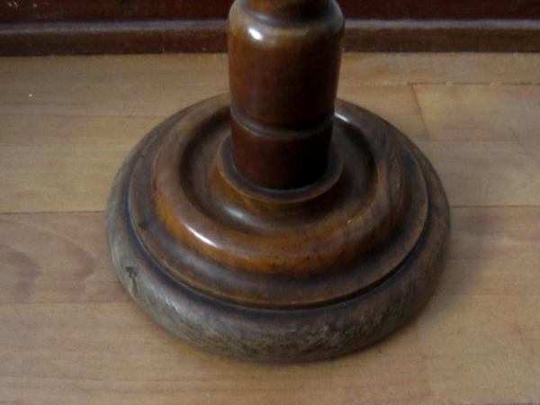 木製六角小テーブル   半額      _f0112550_1593163.jpg