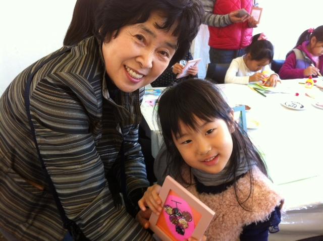 雑穀で食べ物アートを作ろう!@NHK東京・渋谷 大盛況でした!_c0220172_16185718.jpg