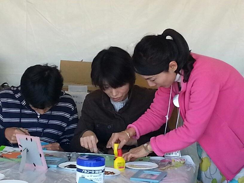 雑穀で食べ物アートを作ろう!@NHK東京・渋谷 大盛況でした!_c0220172_16215262.jpg