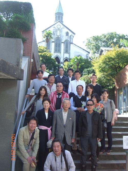 第2研修 「JRでいく!長崎市内観光」 _f0120774_1146917.jpg