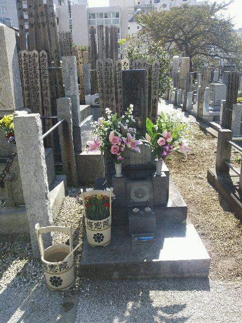 十一月二日 山口二矢烈士墓前祭 於梅窓院_a0165993_1849822.jpg
