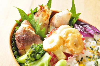 はんぺんチーズの肉巻き弁当 と 釣り_b0171098_8454730.jpg