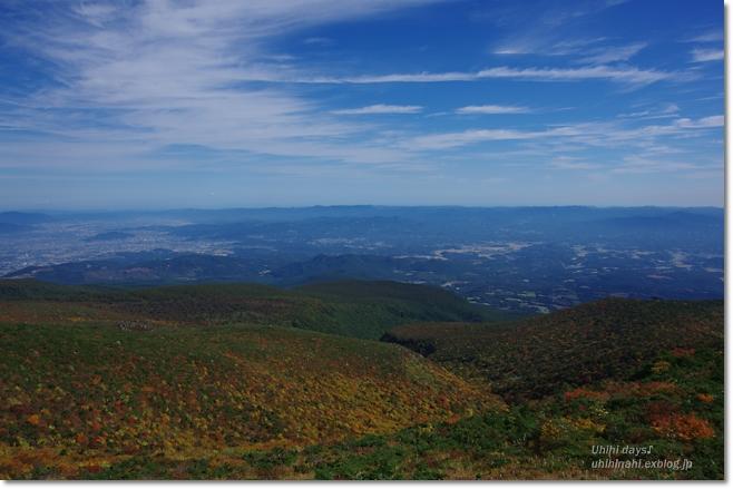 紅葉の絶景ハイキング! 安達太良山_f0179404_21125714.jpg