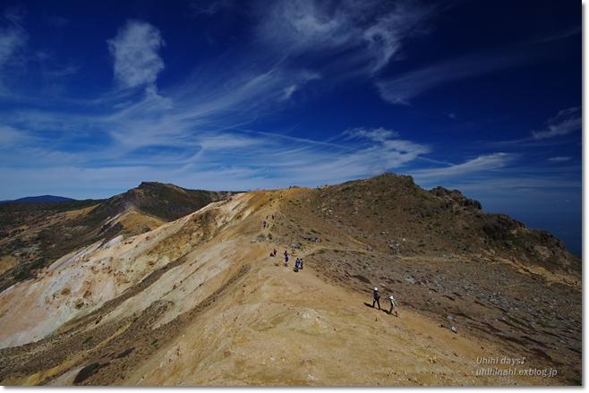 紅葉の絶景ハイキング! 安達太良山_f0179404_21154776.jpg