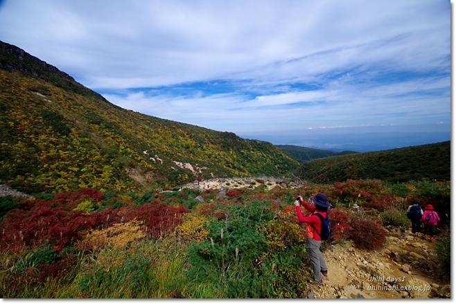 紅葉の絶景ハイキング! 安達太良山_f0179404_21183475.jpg