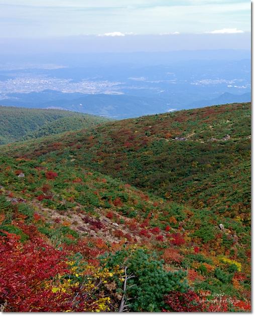 紅葉の絶景ハイキング! 安達太良山_f0179404_2191925.jpg