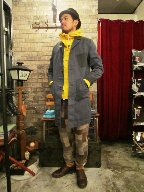 "AmanjaKania \""Garage Master Coat\"" ご紹介_f0191324_952390.jpg"