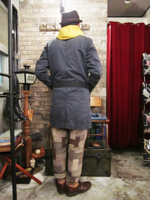 "AmanjaKania \""Garage Master Coat\"" ご紹介_f0191324_953064.jpg"