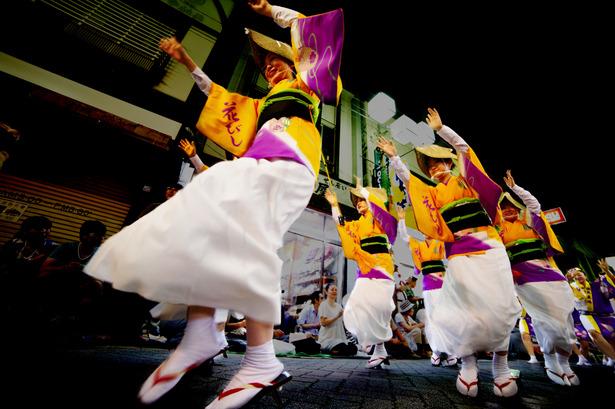 高円寺の阿波踊り・・・ラジオ出演_a0241725_20352294.jpg