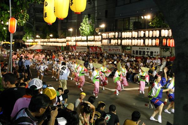 高円寺の阿波踊り・・・ラジオ出演_a0241725_20564667.jpg