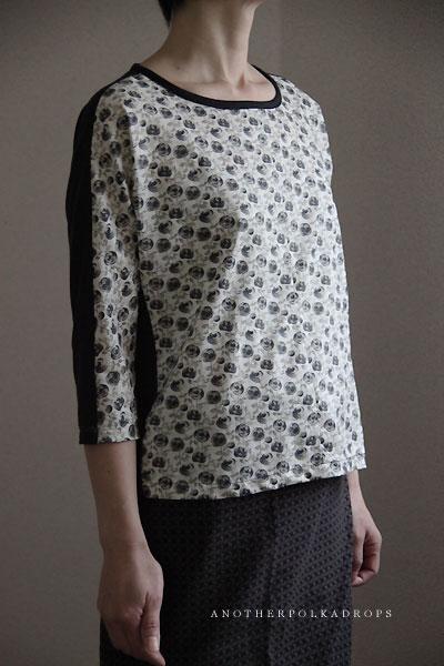 ほそパンツと、きれいラインTシャツ布帛アレンジ_d0012237_2275687.jpg