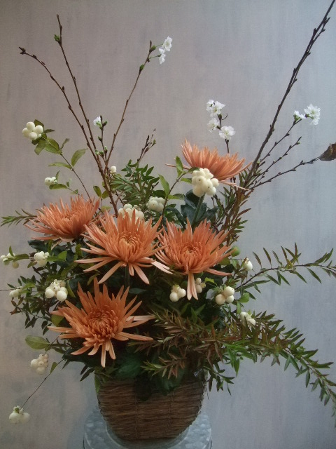 オークリーフ(㐂八さん8周年のお花)_f0049672_1247362.jpg