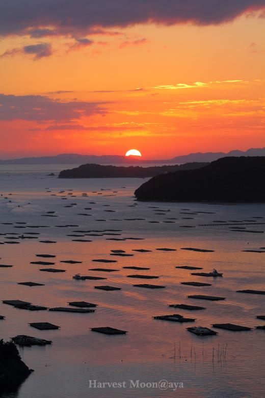 虫明湾の夜明け_b0208495_21433723.jpg