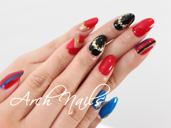 RED NAILS_a0117115_1492033.jpg