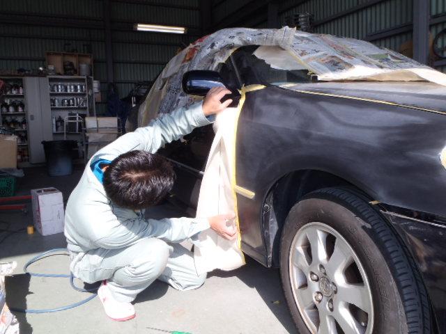 社長、お車塗装中~(^_-)★_c0213517_13413033.jpg