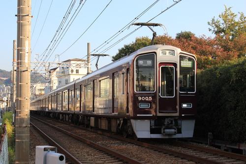 阪急9005F 通勤準急_d0202264_853280.jpg