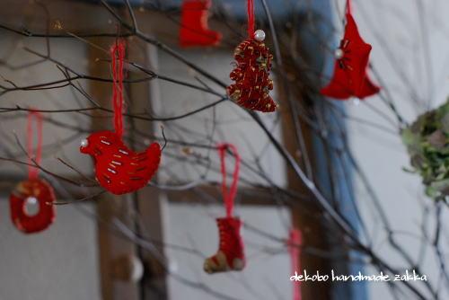 小さなクリスマスオーナメント_d0091671_8375126.jpg