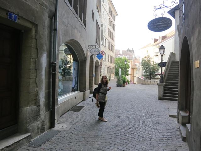 ジュネーブ旧市街のギャラリー_e0233674_18452587.jpg