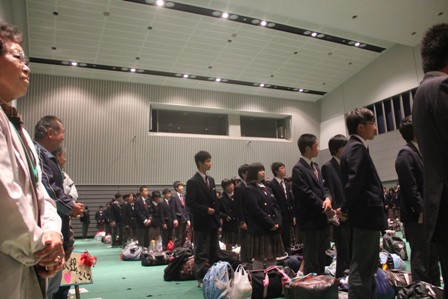 東朋中学校の皆さんいらっしゃい...