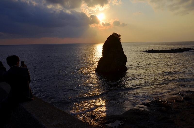 今日も立石に日が沈む_d0065116_23161893.jpg