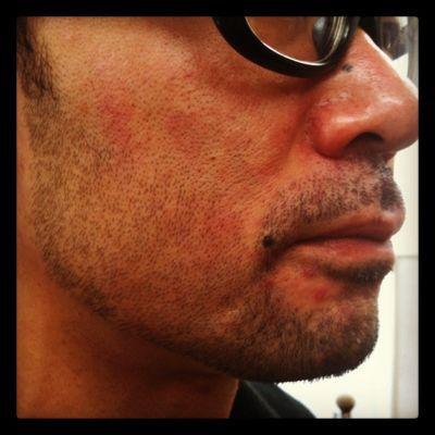 beard style vo.9 『苦肉の策でヒゲを生やす』_e0100332_1847076.jpg