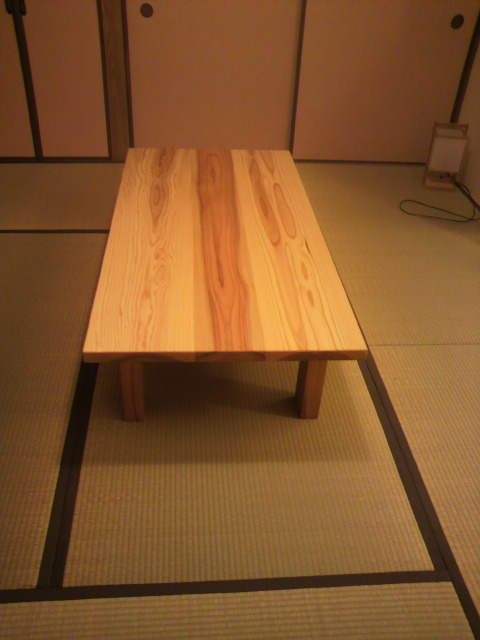 杉板の座卓_f0052181_2073778.jpg
