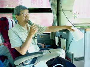 からくりパズルを楽しむ会2 -バス移動・彫刻の森-_a0220500_1415416.jpg