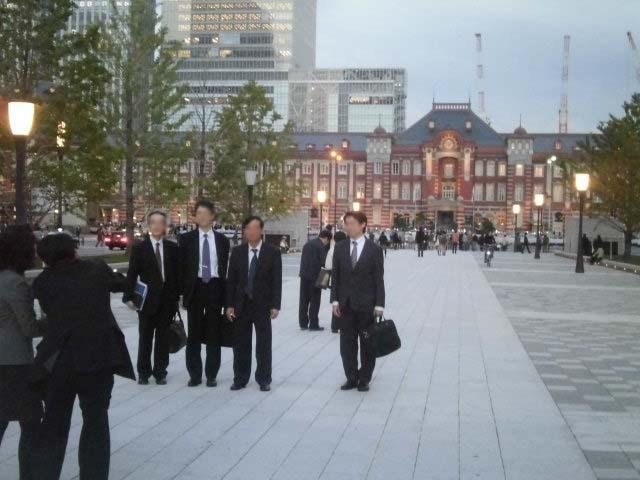 保存復原工事が完成 ライトアップに映える「東京駅」_f0141310_7445696.jpg