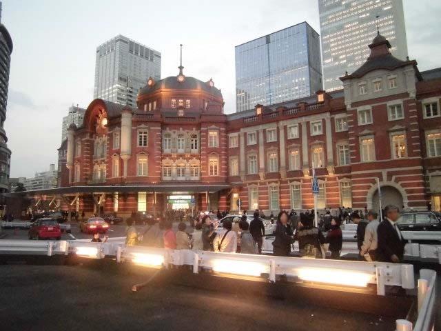 保存復原工事が完成 ライトアップに映える「東京駅」_f0141310_7461013.jpg