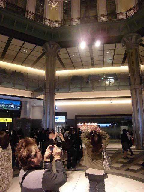 保存復原工事が完成 ライトアップに映える「東京駅」_f0141310_7465017.jpg