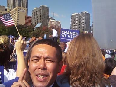 あと4年・・・オバマ再選・・・同じ民主党でも_d0004717_712583.jpg