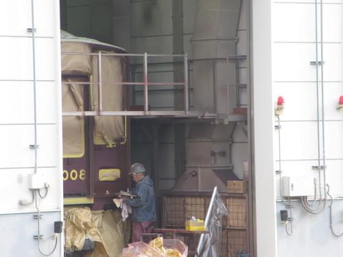 阪急8008Fアルナ車両入場 9309F修理_d0202264_10292734.jpg