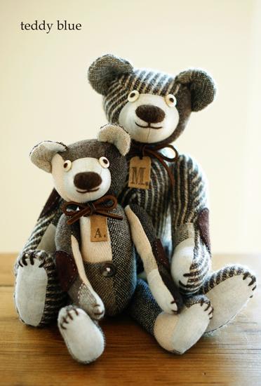 love teddies  ふたりのラブ・テディ_e0253364_23514375.jpg