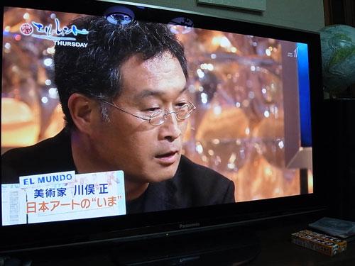 川俣正、テレビ出演_c0189970_21593075.jpg