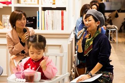 第2回目Mom meets Mom ~大橋マキさんを迎えて_c0212972_11221752.jpg