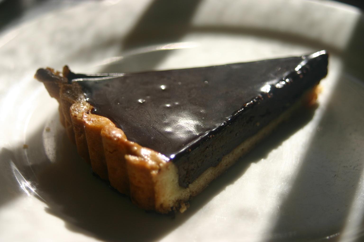 鏡のようなチョコレートのタルト?!_e0190216_16202252.jpg