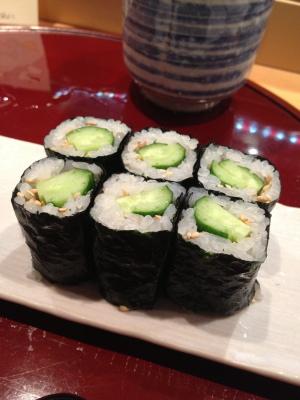 ++お鮨屋さんで食した野菜達は聞いていた++_e0140921_11245897.jpg