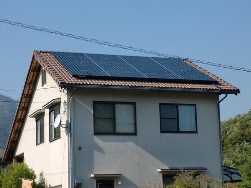 廿日市市 K様邸・太陽光発電システム設置工事_d0125228_2363530.jpg