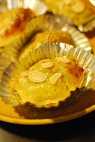 薩摩芋の折込パン、マクロビスイートポテトなどなど_a0175348_18453171.jpg