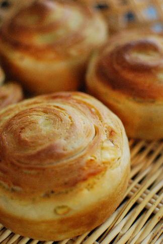薩摩芋の折込パン、マクロビスイートポテトなどなど_a0175348_18485495.jpg