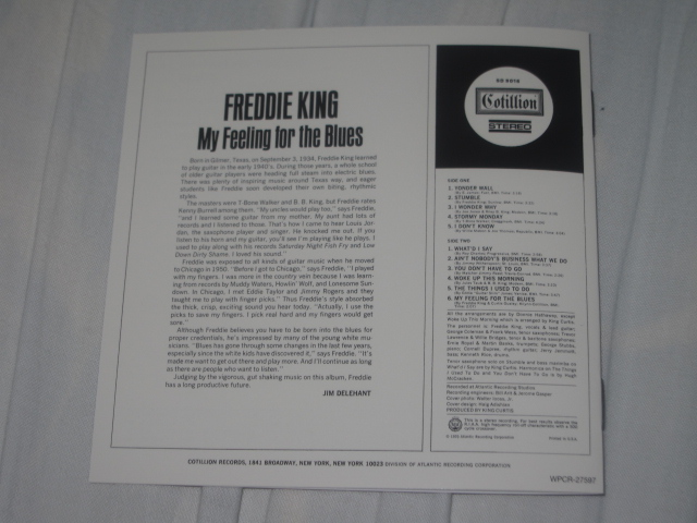 FREDDIE KING / MY FEELING FOR THE BLUES_b0042308_9183474.jpg