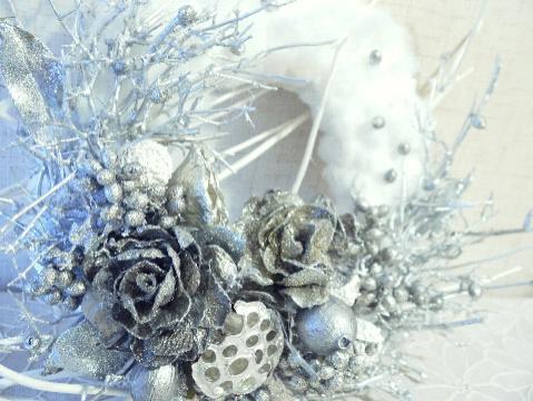 満天の星空 クリスマスリース_e0086864_23592054.jpg