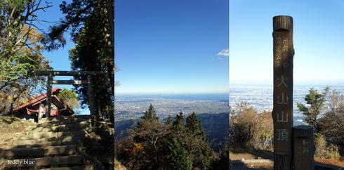 fall hiking in Oyama  秋の大山ハイキング_e0253364_1374955.jpg