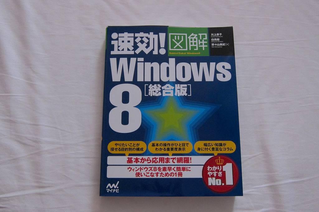 カワセミ兄弟喧嘩/今朝の眉月と金星/Windows8のムック本_b0024798_2056291.jpg