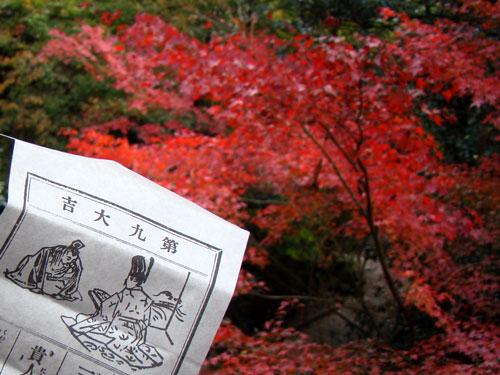 紅葉狩り~三滝寺_a0047200_1885514.jpg