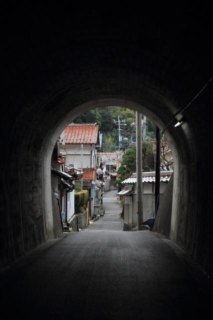 出雲市大社町鷺浦  鷺隧道、未来へのトンネル_b0061717_1204172.jpg