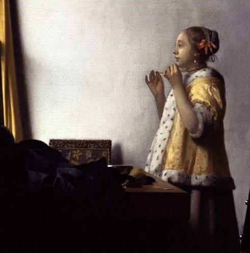 九州国立博物館でフェルメールの『真珠の首飾りの少女』_c0011649_124895.jpg